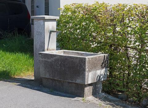 Brunnen Heckersbrücke - 1969 - Eigentum der WKG