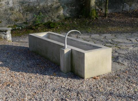 Brunnen Hohle Gasse bei Kapelle - 2005 - Eigentum Stiftung Hohle Gasse