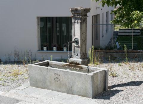 Brunnen Obere Rigigasse - 1970 - Eigentum der WKG