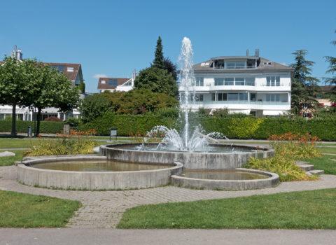 Springbrunnen am Quai - 1981 - Eigentum Bezirk